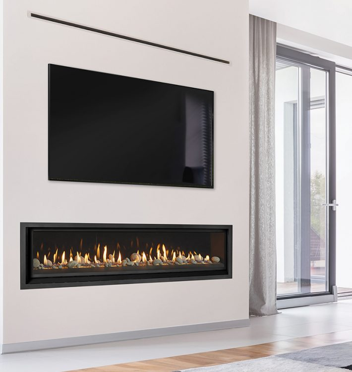 SAY HELLO TO OUR WIDEST PREMIUM LINEAR GAS FIREPLACE (1.9 METRES)