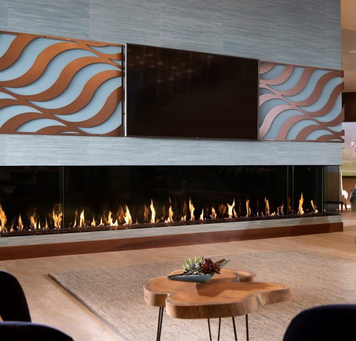 DAVINCI CUSTOM FIREPLACES – THE ULTIMATE FIRE FEATURE TO ENJOY ALL YEAR ROUND!