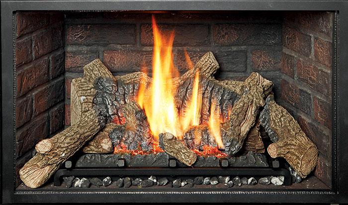 Ember-Fyre - Handmade Brick Fireback Liner