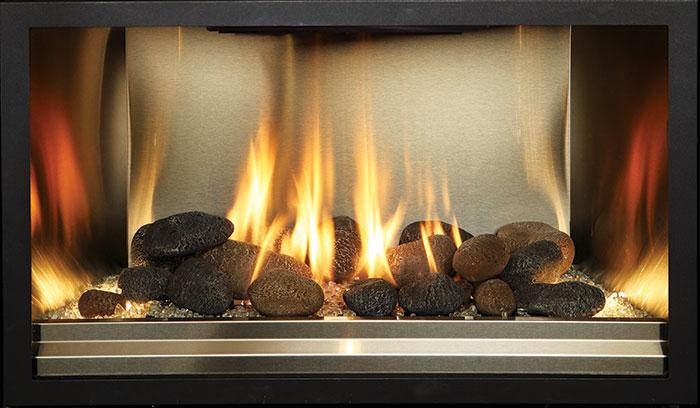 Fyre-Stone - Stainless Steel Fireback Liner