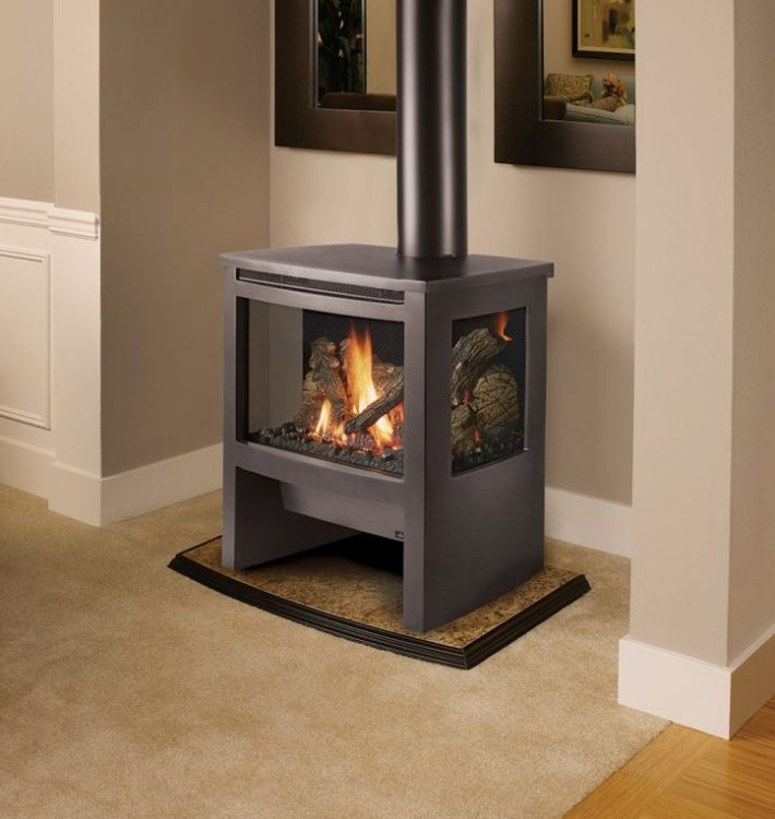 The Lopi Cape Cod and Rockport Cast Iron Stoves
