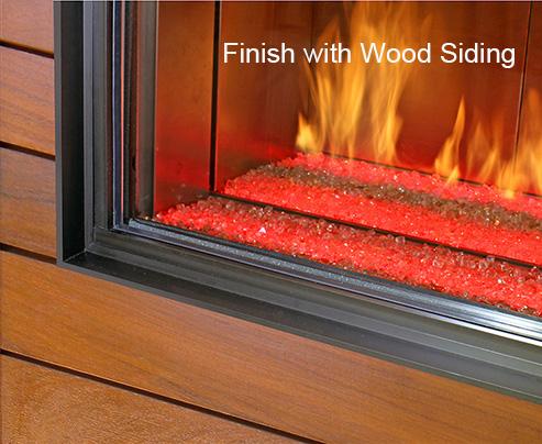 Finish with Wood Siding