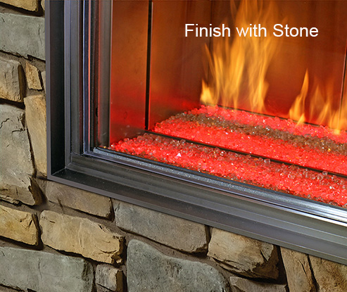 Finish with Stone
