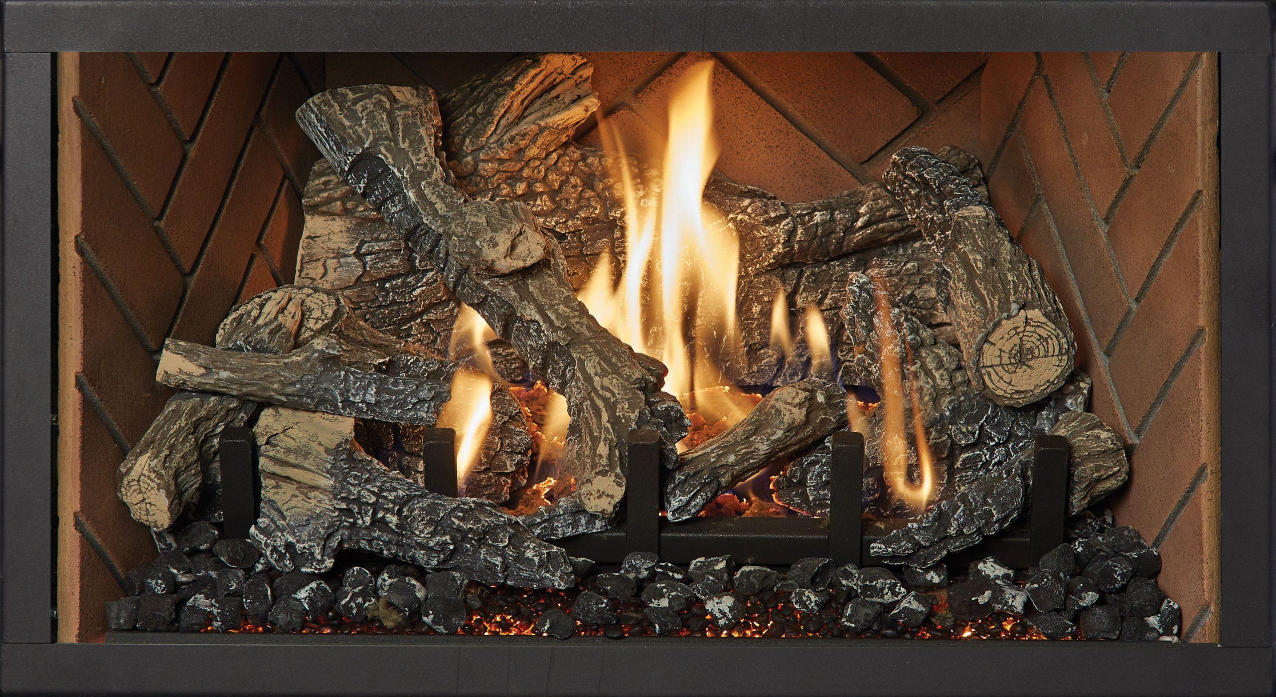 DVS Herringbone Brick Fireback Liner