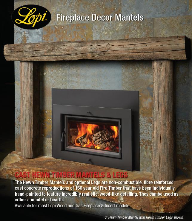 Lopi Fireplace Decor Mantels
