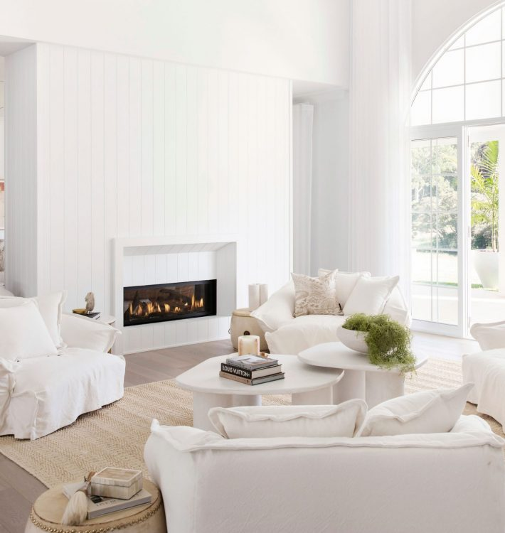 Our Double Sided Fireplace in an Aussie Dream Home!